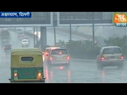 Delhi: Weather Department Forecasts Rain Till Saturday Evening