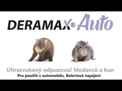 Deramax®auto ultrazvukový odpuzovačplašič kun a hlodavců do auta