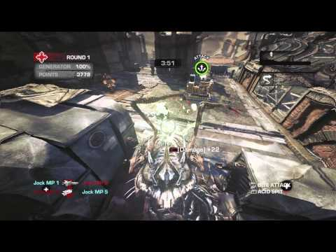 Gears of War Judgment Overrun Gameplay
