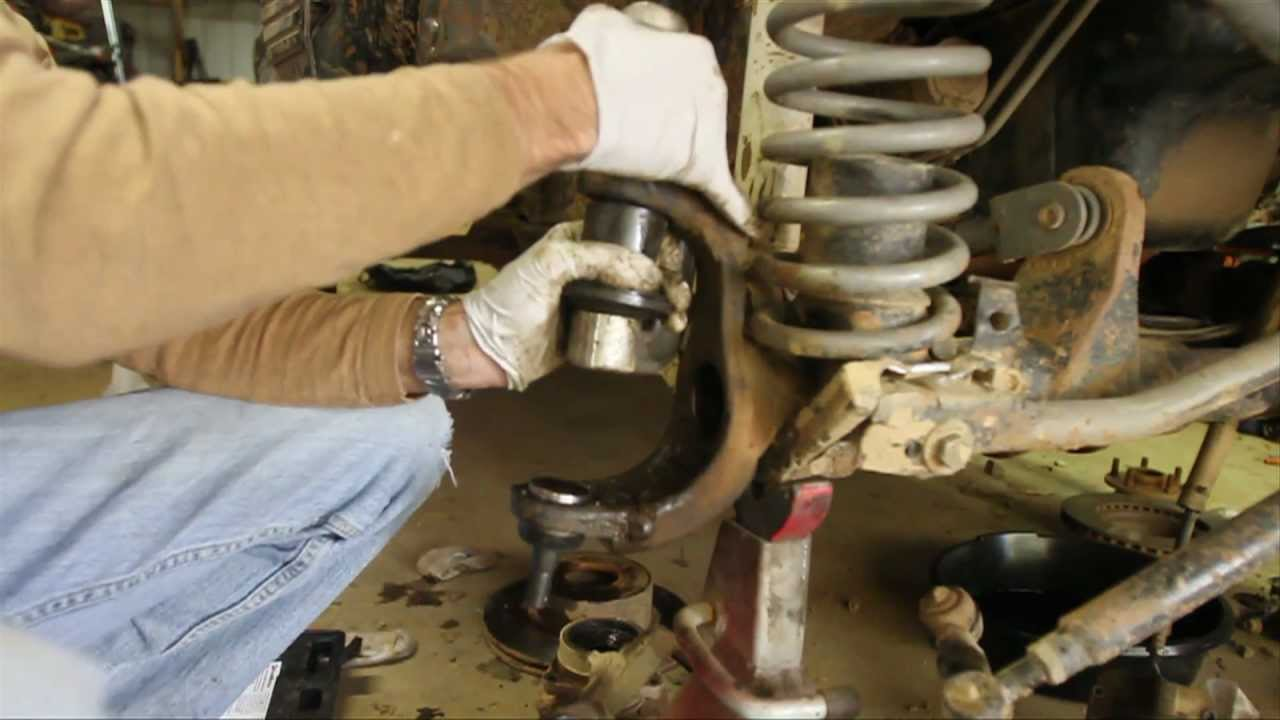 replace dana    ball joints part