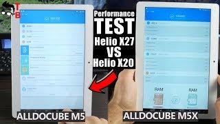 ALLDOCUBE M5X Performance Test & Compare with ALLDOCUBE M5