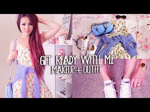 Get Ready With Me ✿ Makeup & Outfit | Shopping