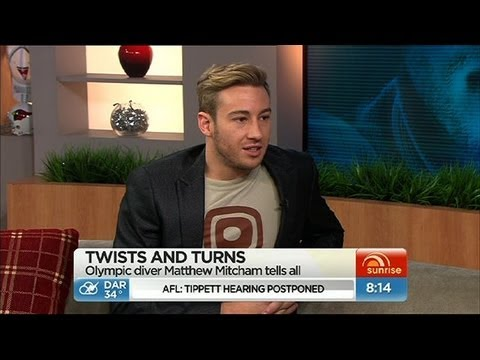Sunrise - Matthew Mitcham opens up