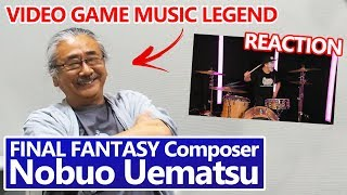 FINAL FANTASY composer Nobuo Uematsu REACTS!