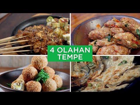 4 Olahan Tempe | 4 WAYS