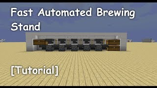 Fast Automated Brewing Stand [Tutorial]
