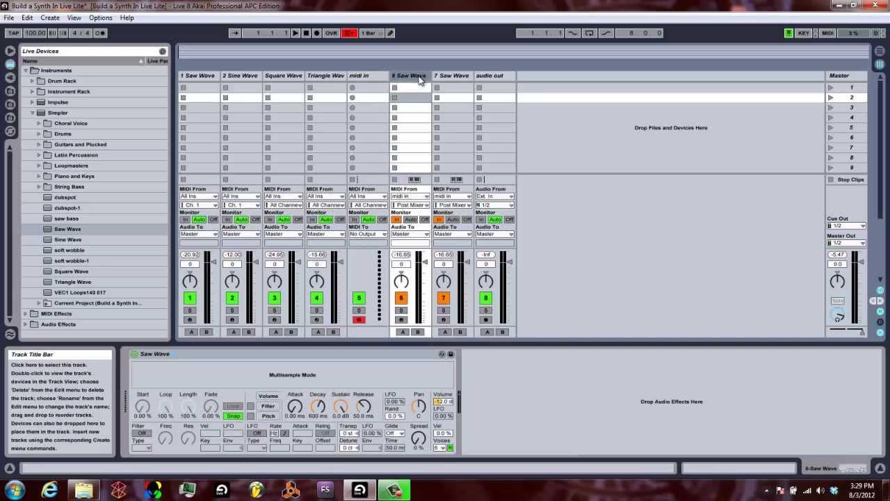 Telecharger ableton live lite 4 behringer edition download free apps truecliff - Ableton live lite free download ...
