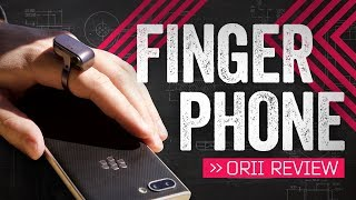 This Ring Turns Your Finger Into A Phone ( ... Kinda)