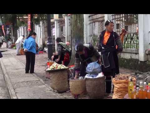 Travel - 2013 trip to Sapa, Vietnam P2. Rov mus saib Hmoob Sapa. (HD)