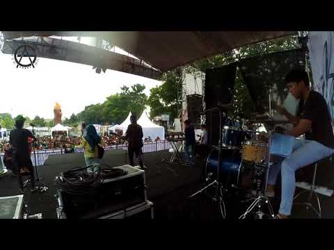 Lungset - Drum cover - live at stadion semeru lumajang