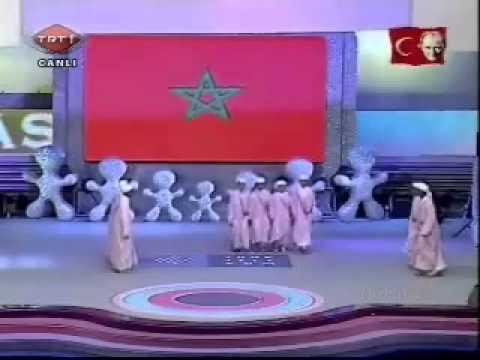 Morocco children's dances Fas Turkey. thumbnail