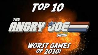 Top 10 WORST Games of 2010 - Angry Joe