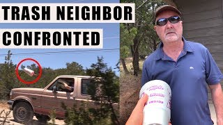 TRASH Throwing Neighbor Caught & Confronted | NEIGHBOR FROM HELL