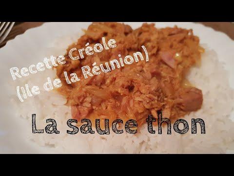 Recette Créole : La sauce thon
