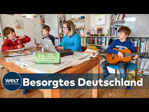 DEUTSCHLANDTREND: Deutsche haben Sorge um ihrer Kinder in der Corona-Krise