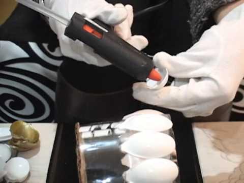 Como hacer un farol en material reciclable