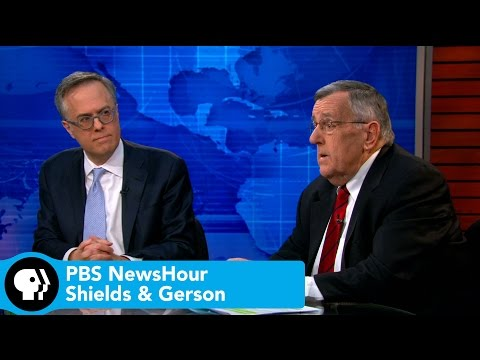 PBS NewsHour | Shields and Gerson on Clinton's email problem, Senate sabotage of Iran negotiations