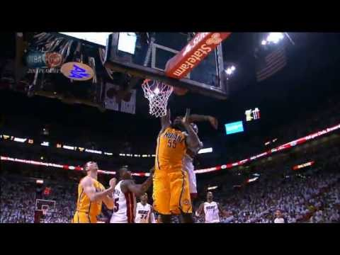 LeBron James Skies to Reject Roy Hibbert