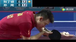 SUN Wen孙闻(who beat FZD in SupaLiga 2018) -vs- Liu Dingshuo