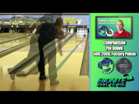 Ebonite Mission X Bowling Ball 720p 60fps.mov