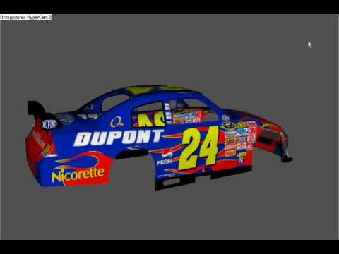 jeff gordon 24 font. Nascar 09 - Jeff Gordon Dupont