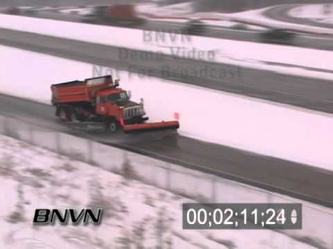 3/31/2008 Winter Storm Spin Out POV Dash Camera and aftermath
