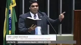 Cabo Daciolo profetiza contra Eduardo Cunha