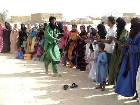 Tuareg Man Dancing (Mali)