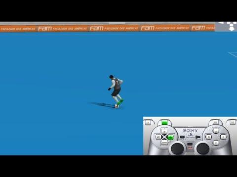PES 2018 (PS2) All Skills Tutorial