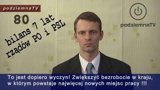 Bilans 7 lat rządów PO i PSL