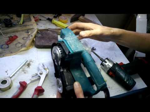 Шлифмашинка макита 9911 ремонт своими руками 68