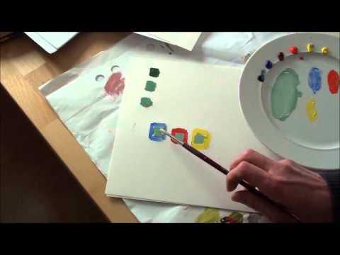Farben mischen lernen