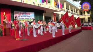 [Lễ Chào Cờ & Hát Quốc Ca] Trường Tiểu Học Kim Sơn - Sơn Tây - Hà Nội