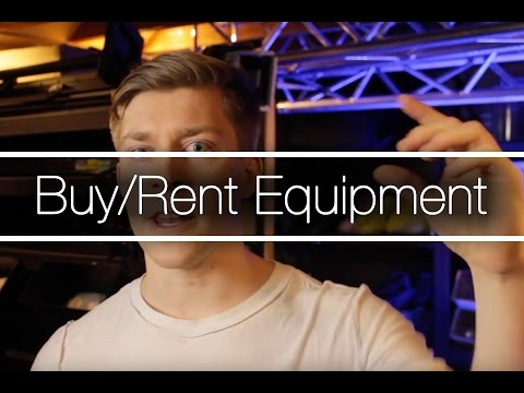 Buy Or Rent Your Mobile DJ Lighting & Sound Equipment | DJ Tips