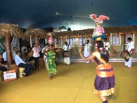 Karakattam Dancers - Indian Cultural Centre video