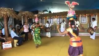 karakattam dancers - Indian Cultural Centre