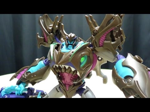 Transformer Prime Beast Hunters Voyager SHARKTICON MEGATRON: EmGo's Transformers Reviews N' Stuff