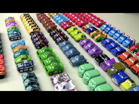 52 Micro Drifters Entire Complete Cars 2 Collection Disney Pixar carstoys 2013 by Blucollection