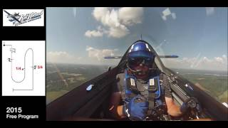 Rob Holland 2015 Aerobatic Competition Practice