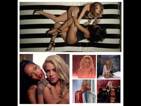 Shakira And Rihanna Hot Shakira Sex Scene [sexy Pictures- Imagenes Sensuales] Full Hd 2014 video