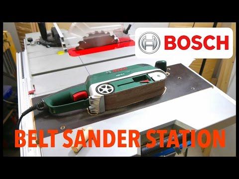 Bandschleifer Station für die BOSCH GTS 10 XC - Günstige Anleitung -