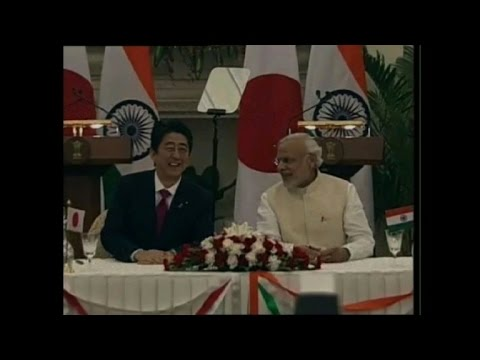 Japan and India agree bullet train, nuclear deals