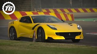 INSANE! Chris Harris Drives The Ferrari F12 TDF - Top Gear