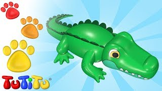 TuTiTu Animals | Animal Toys for Children | Crocodile and Friends