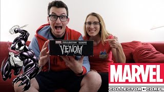 UNBOXING MARVEL COLLECTOR CORPS VENOM BOX!!