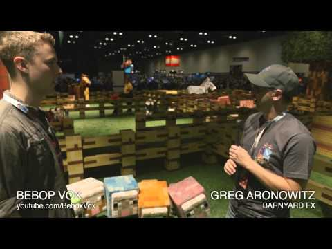 MINECON 2013 Barn Yard with Greg Aronowitz and BebopVox