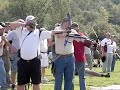 Slow Mo of Archers, Jim Powell, Preston Roberson, and Rick Welch