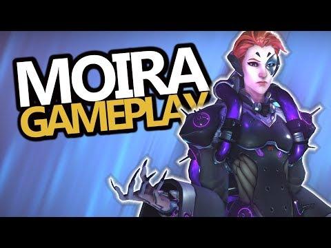 Moira OPAF Gameplay (Overwatch) New Hero!