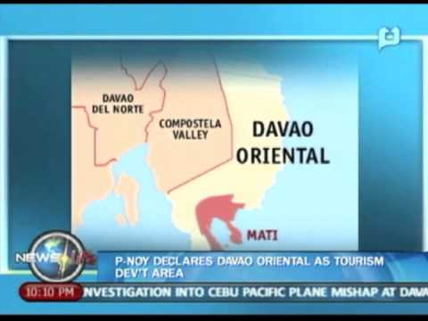 NewsLife: President Aquino declares Davao Oriental as Tourism Dev't Area