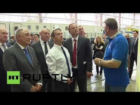 Russia: Medvedev 'impressed' by Vostochny Cosmodrome construction